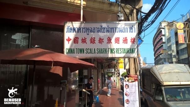 shark fin soup restaurant Bangkok Thailand