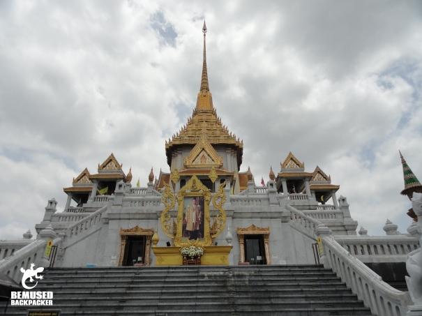Bangkok Chinatown Wat Traimit