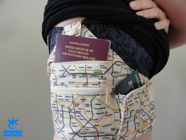 Wanderwave wanderbelt money pouch review keeping valuables safe abroad