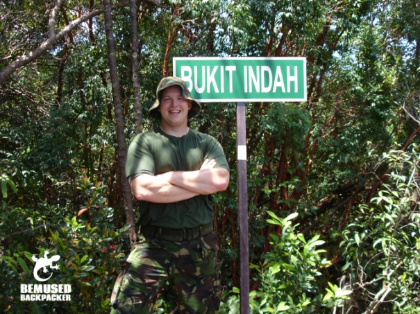 Michael Huxley Jungle Trekking in Malaysia