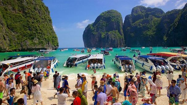 The Beach Maya Bay Thailand