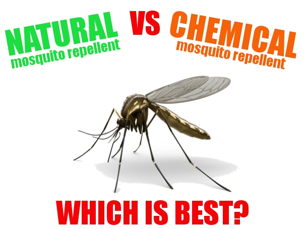Natural vs Chemical mosquito repellent which is best?