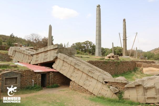 Aksum Stelae Ethiopia