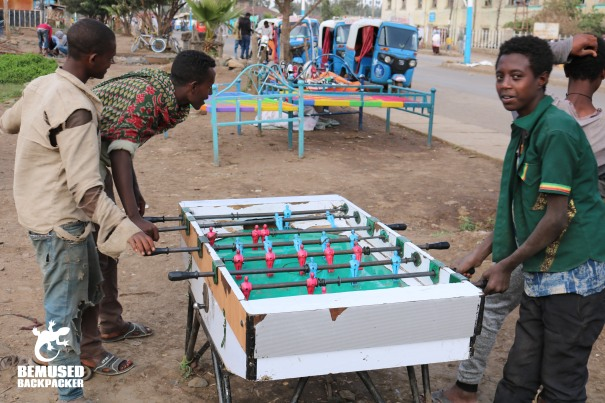 Ethiopia Table Football Game