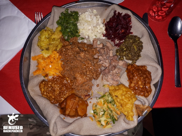 Ethiopian Vegan and Vegetarian Food Yetsom Beyanetu