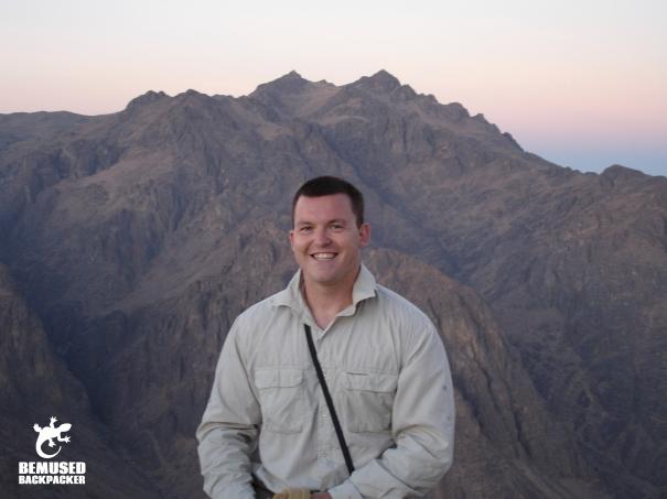 Michael Huxley Mount Sinai Egypt Sunrise