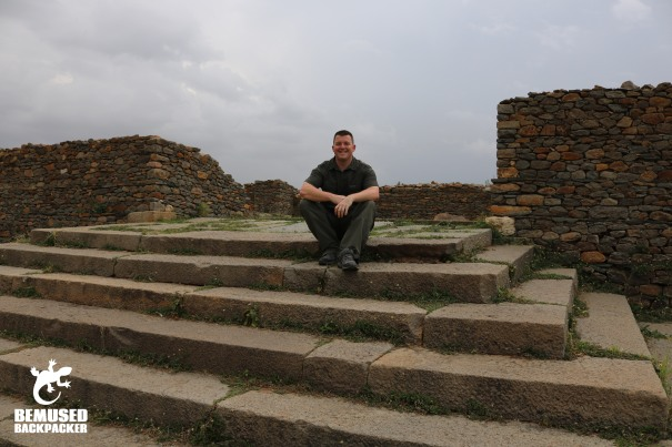 Michael Huxley Queen Of Sheba Palace Ruins Ethiopia