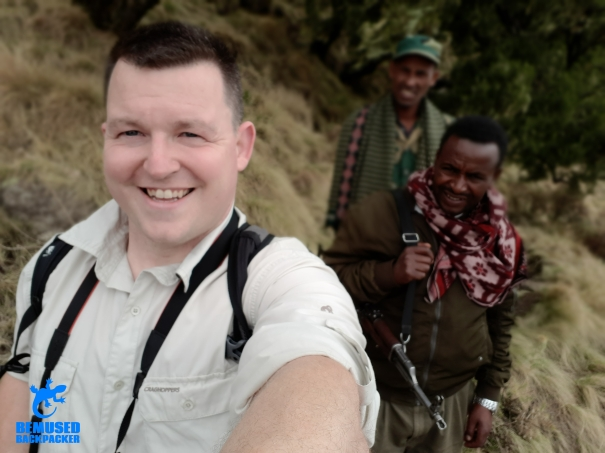 Michael Huxley Trekking in Simien National Park