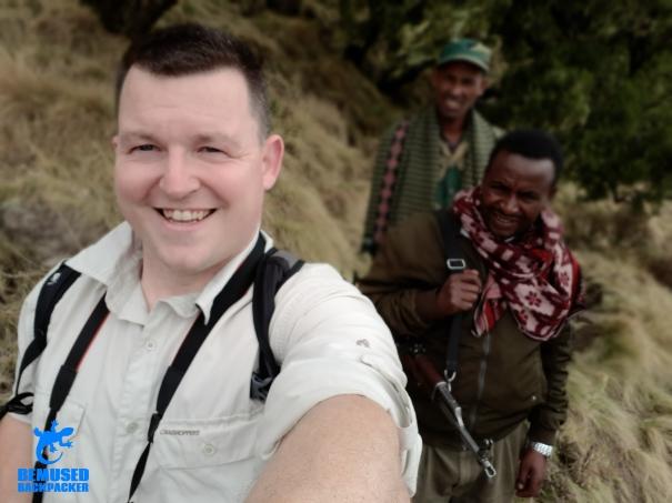 Michael Huxley Trekking in Simien National Park