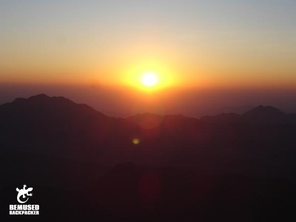 Mount Sinai Egypt Sunrise