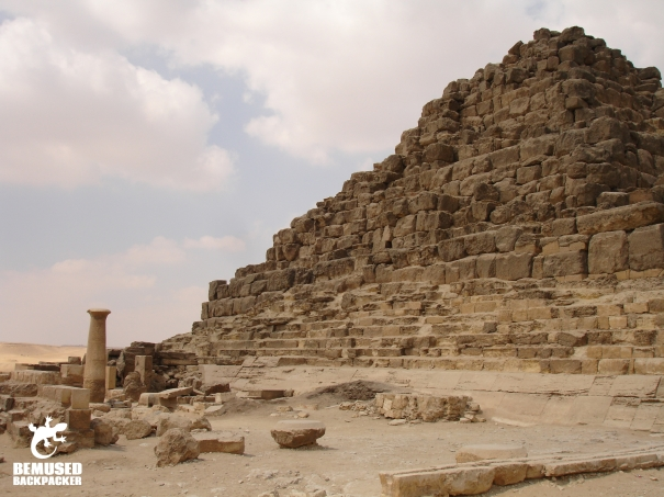 Giza Plateau Queens Pyramids