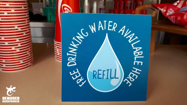 Refill Water Station