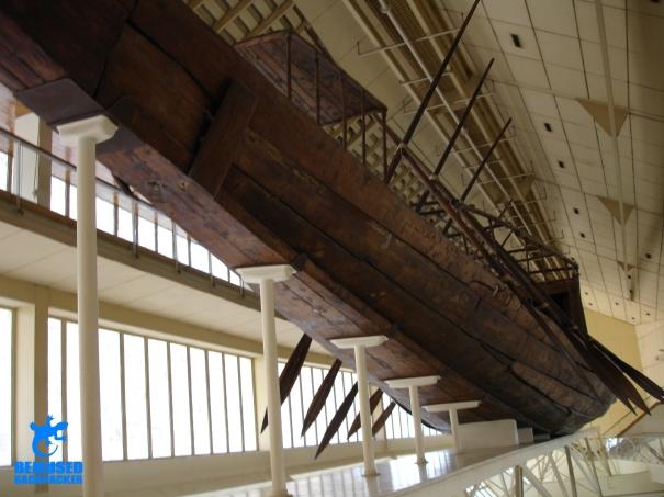 Solar boat museum giza plateau