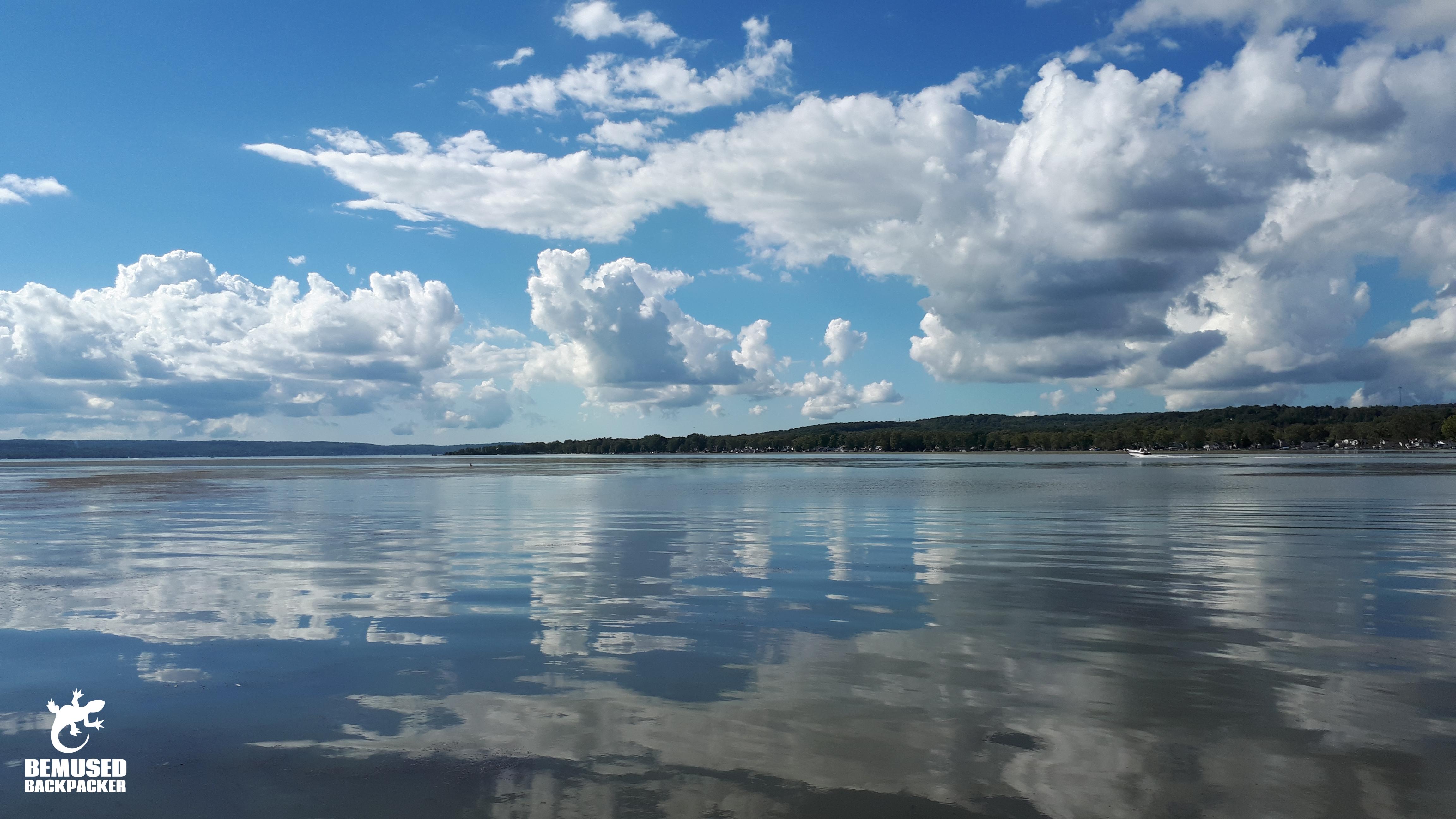 Lake view at Finger Lakes New York