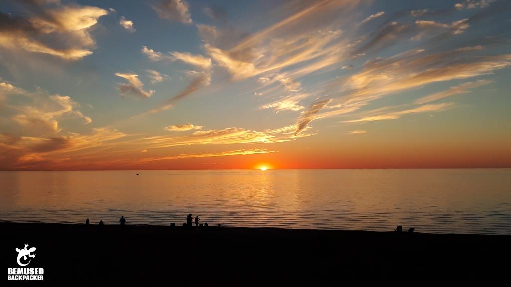 Sunset at Sunset Bay New York