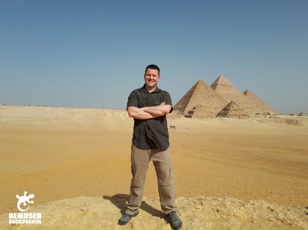 Michael Huxley Pyramids Egypt
