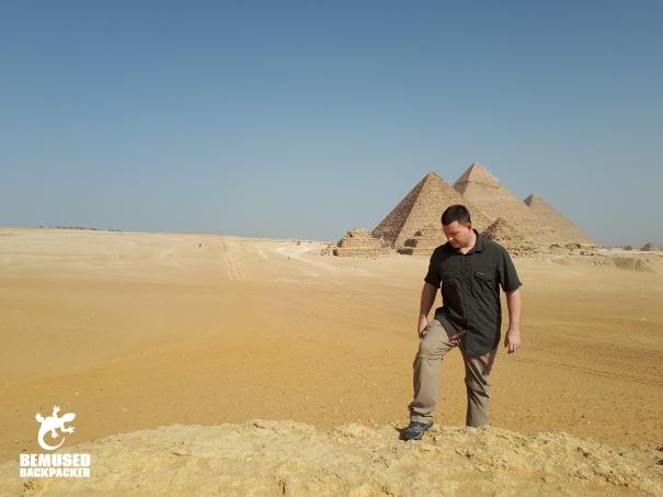Michael Huxley Pyramids Giza Egypt