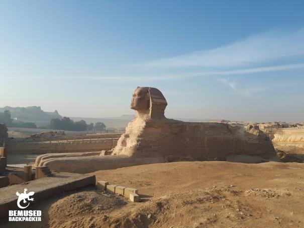 Sphinx Pyramids Giza Egypt