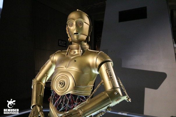 C3P0 at the US Space and Rocket Museum Huntsville Alabama