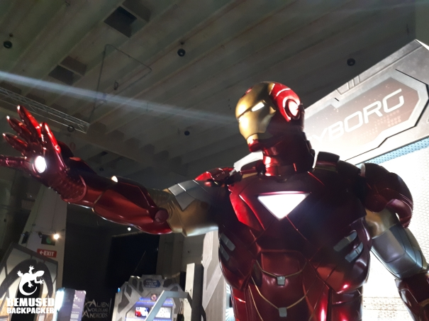 Iron Man at the US Space and Rocket Museum Huntsville Alabama