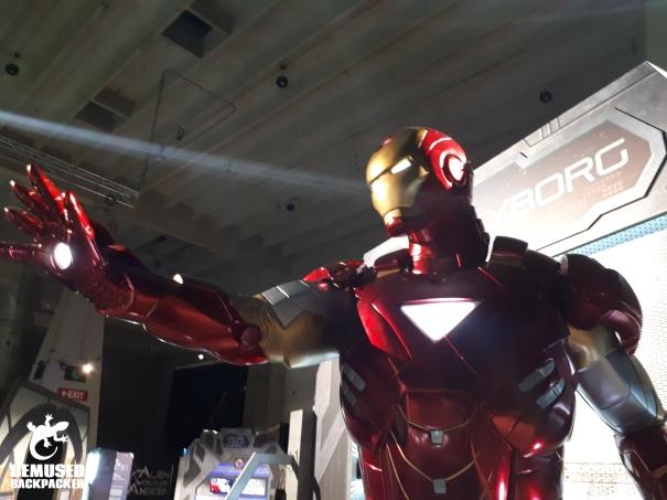 Iron Man at the US Space and Rocket Museum Huntsville Alabama