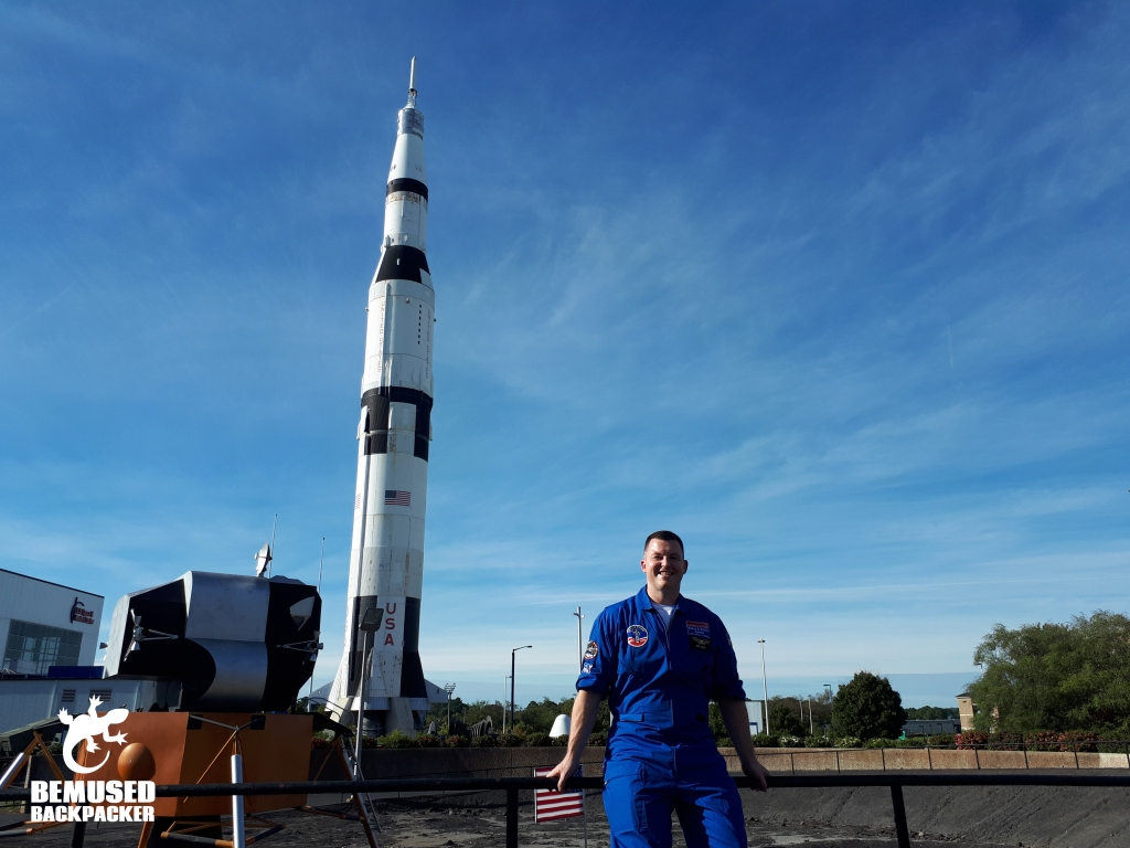 Michael Huxley at Space Camp Rocket City Huntsville