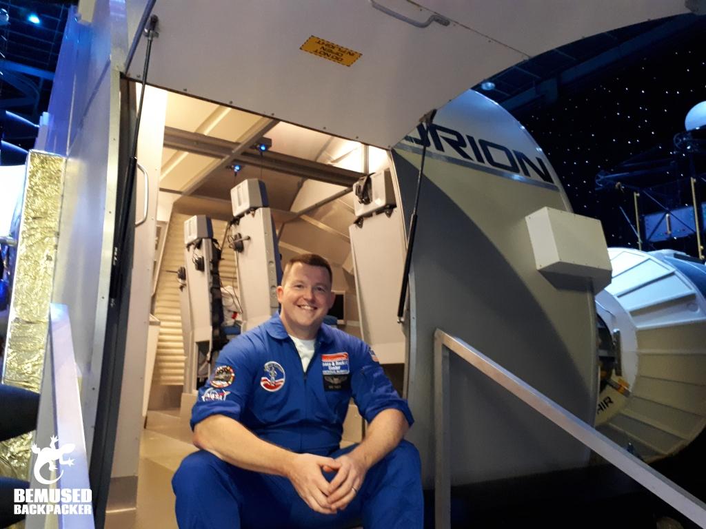 Michael Huxley Space Camp Simulator Huntsville Alabama