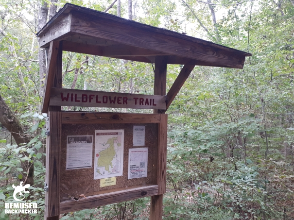 Monte Sano Nature preserve wildflower trail
