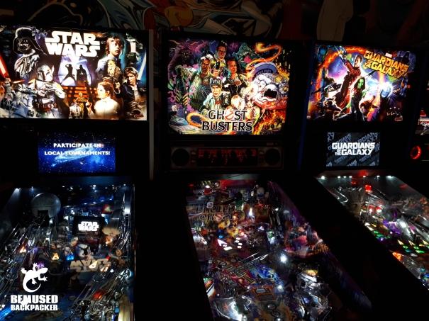Pinball Machines Pints and Pixels Huntsville Alabama