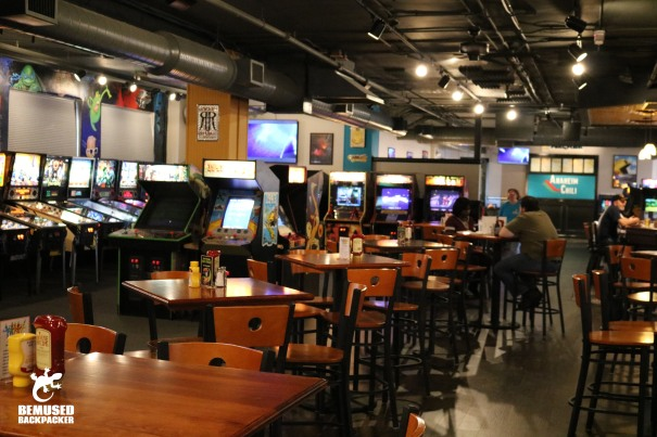 Pints and Pixels bar Huntsville Alabama