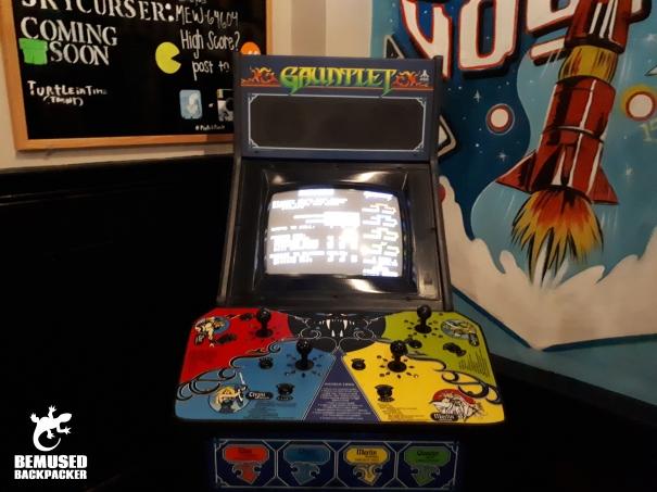 Gauntlet Arcade Game Pints and Pixels Gauntlet Alabama Huntsville