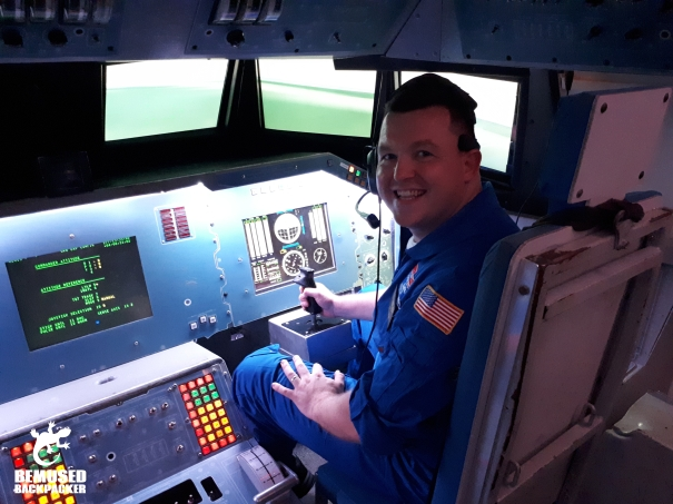 Michael Huxley Space Camp Flight Simulator Commander