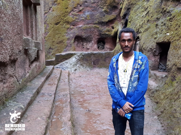 local guide rock hewn churches of lalibela ethiopia