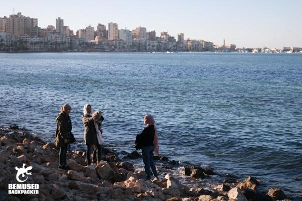 Alexandria Corniche Egypt