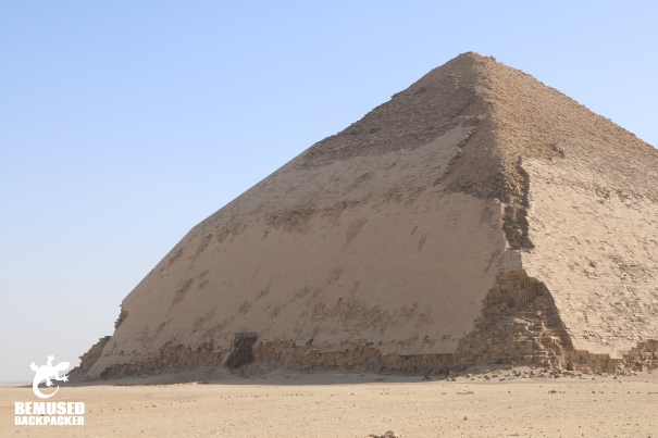 Bent pyramid at Dahshur Egypt
