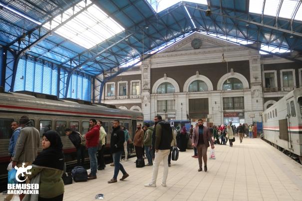 Cairo to Alexandria Egypt Alexandria MISR train station