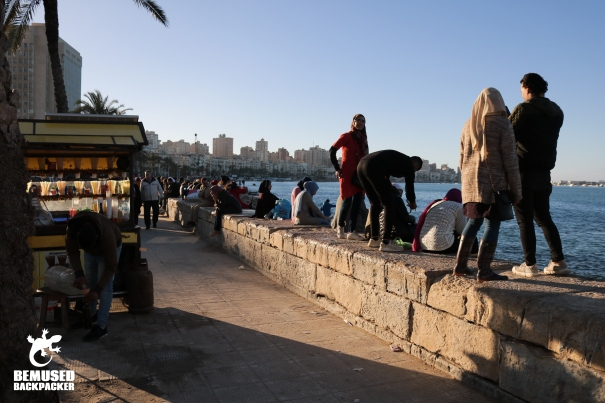 Corniche Alexandria Egypt