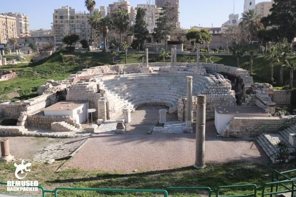 Kom El Dikka Alexandria Egypt