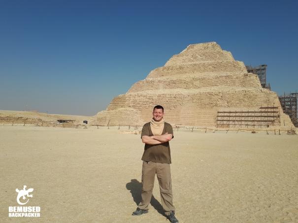 Michael Huxley Saqqara Egypt