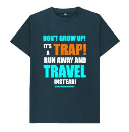 Dont Grow Up Mens T Shirt