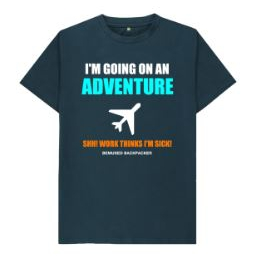 Going On An Adventure Mens T Shirt
