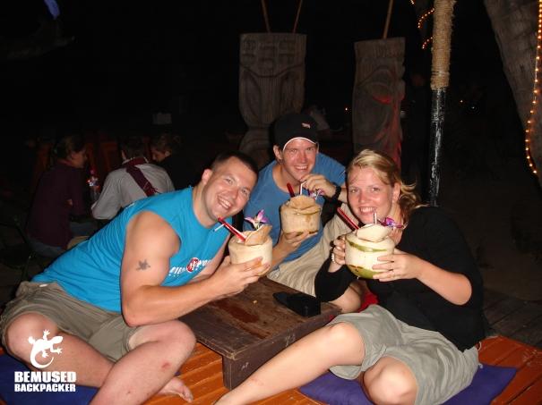 Michael Huxley Full Moon Party Thailand