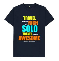 Travel Makes You Rich Mens T Shirt