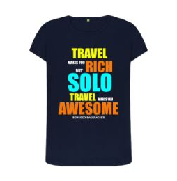 Travel Makes You Rich T Shirt