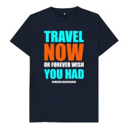 Travel Now Mens T Shirt