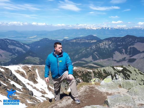 Michael Huxley Tatras mountains Slovakia