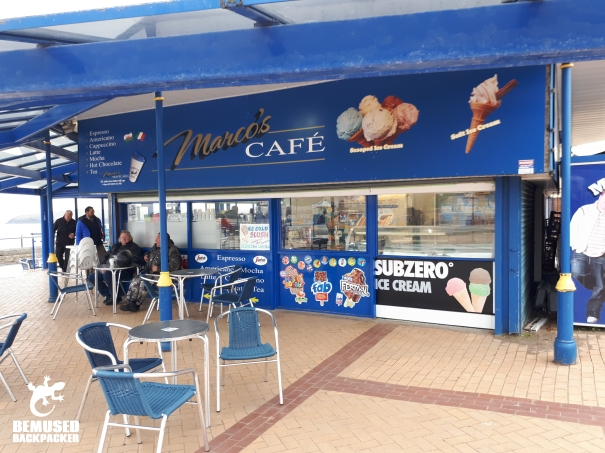 Gavin and Stacey Filming Locations Barry Island Marcos Cafe