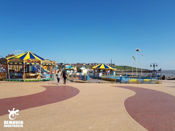 Gavin and Stacey Filming Locations Barry Island Queens Square Promenade