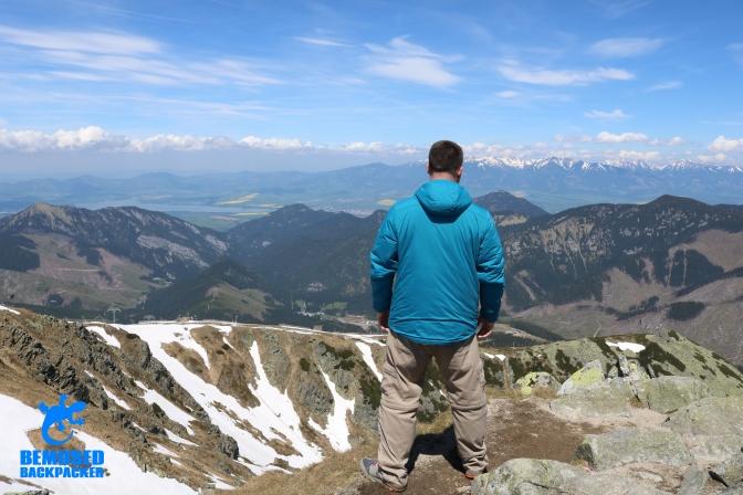 Michael Huxley Mountain Climbing Slovakia