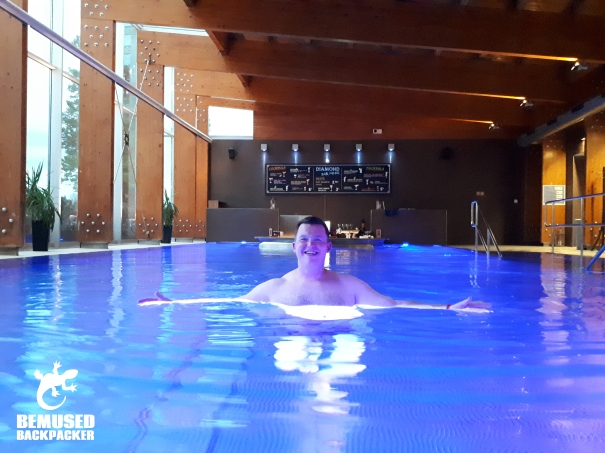 Michael Huxley Slovakia Health and Wellness Travel Pool